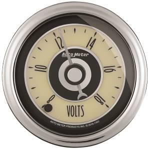 AutoMeter - AutoMeter Gauge; Voltmeter; 2 1/16in.; 18V; Digital Stepper Motor; Cruiser AD 1182 - Image 1