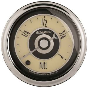 AutoMeter - AutoMeter Gauge; Fuel Level; 2 1/16in.; Programmable; Cruiser AD 1108 - Image 1