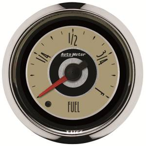 AutoMeter - AutoMeter Gauge; Fuel Level; 2 1/16in.; Programmable; Cruiser 1109 - Image 1