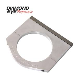 Engine & Performance - Exhaust Parts - Diamond Eye Performance - Diamond Eye Performance PERFORMANCE DIESEL EXHAUST PART-6in. MACHINED ALUMINUM STACK CLAMP 446006
