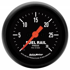 AutoMeter - AutoMeter Gauge; Rail Pressure (RAM 5.9L); 2 1/16in.; 30kpsi; Digital Stepper Motor; Z Ser 2686