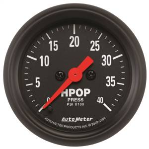 1994-1997 Ford 7.3L Powerstroke - Gauges & Pods - AutoMeter - AutoMeter Gauge; High Press Oil Pump; 2 1/16in.; 4kpsi; Digital Stepper Motor; Z Series 2696