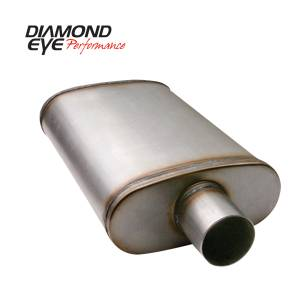 Engine & Performance - Exhaust Parts - Diamond Eye Performance - Diamond Eye Performance PERFORMANCE DIESEL EXHAUST PART-3.5in. 409 STAINLESS STEEL PERFORMANCE PERFORATE 360011