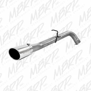 "2007.5-2017 Dodge 6.7L 24V Cummins - Exhaust - MBRP Exhaust - MBRP Exhaust 4"" Filter Back, Single Side Exit, AL S6156AL"