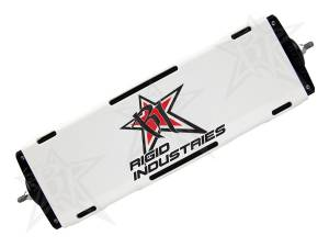 "Lighting - Offroad Lights - Rigid Industries - Rigid Industries 10"" E-Series Light Cover - White - trim 4"" & 6"" 11096"