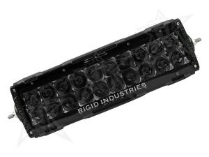 "2003-2007 Dodge 5.9L 24V Cummins - Lighting - Rigid Industries - Rigid Industries 10"" E-Series Light Cover - Smoked - trim 4"" & 6"" 11098"