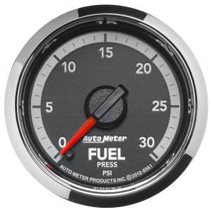 Interior Accessories - Gauges & Pods - AutoMeter - AutoMeter Gauge; Fuel Press; 2 1/16in.; 30psi; Digital Stepper Motor; Ram Gen 4 Fact. Matc 8561