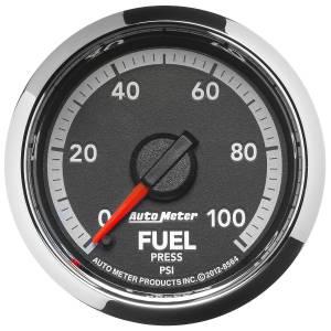 Interior Accessories - Gauges & Pods - AutoMeter - AutoMeter Gauge; Fuel Press; 2 1/16in.; 100psi; Digital Stepper Motor; Ram Gen 4 Fact. Mat 8564