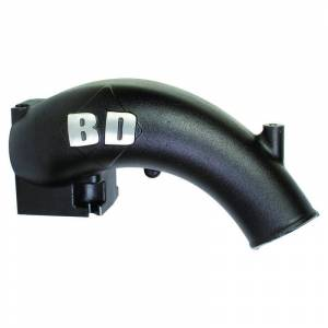 Engine & Performance - Intake Manifolds - BD Diesel - BD Diesel X-Flow Power Intake Elbow (Black) - Dodge 1998-2002 5.9L 24-valve 1041550