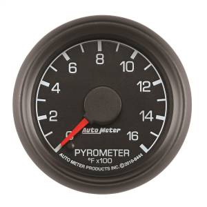 Interior Accessories - Gauges & Pods - AutoMeter - AutoMeter Gauge; Pyrometer (EGT); 2 1/16in.; 1600deg. F; Stepper Motor; Ford Factory Match 8444