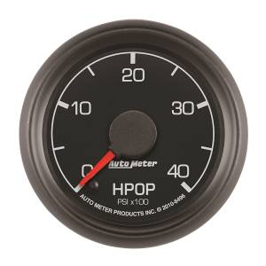 AutoMeter - AutoMeter Gauge; High Press Oil Pump; 2 1/16in.; 4kpsi; Stepper Motor; Ford Factory Match 8496