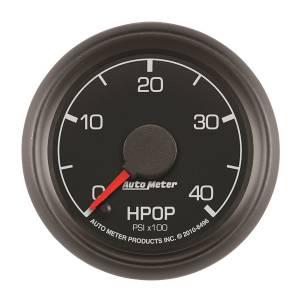 AutoMeter - AutoMeter Gauge; High Press Oil Pump; 2 1/16in.; 4kpsi; Stepper Motor; Ford Factory Match 8496 - Image 1