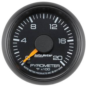 Interior Accessories - Gauges & Pods - AutoMeter - AutoMeter Gauge; Pyrometer (EGT); 2 1/16in.; 2000deg. F; Stepper Motor; GM Factory Match 8345