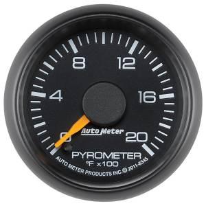 AutoMeter - AutoMeter Gauge; Pyrometer (EGT); 2 1/16in.; 2000deg. F; Stepper Motor; GM Factory Match 8345 - Image 2