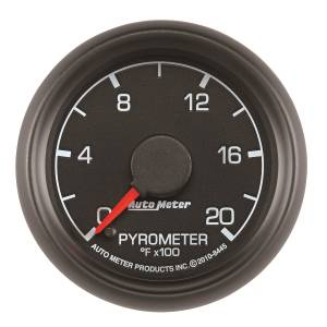 Interior Accessories - Gauges & Pods - AutoMeter - AutoMeter Gauge; Pyrometer (EGT); 2 1/16in.; 2000deg. F; Stepper Motor; Ford Factory Match 8445