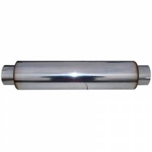 """Engine & Performance - Exhaust Parts - MBRP Exhaust - MBRP Exhaust Muffler 4"""" Inlet /Outlet  24"""" Body  30"""" Overall, T304 M1031"""