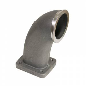 Accessories - Turbo Chargers & Components - BD Diesel - BD Diesel Hot Pipe Adapter - S300/S400 V-Band to T4 Turbo 1453502