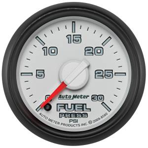 Interior Accessories - Gauges & Pods - AutoMeter - AutoMeter Gauge; Fuel Press; 2 1/16in.; 30psi; Digital Stepper Motor; Ram Gen 3 Fact. Matc 8560