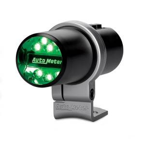 Exterior Accessories - Lighting - AutoMeter - AutoMeter Indicator Light; Pit Road Speed; Pedestal; Black; Programmable 5336