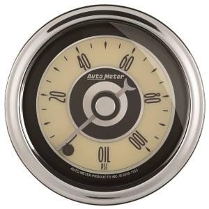 AutoMeter - AutoMeter Gauge; Oil Press; 2 1/16in.; 100psi; Digital Stepper Motor; Cruiser AD 1152 - Image 1