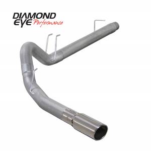 2008-2010 Ford 6.4L Powerstroke - Exhaust - Diamond Eye Performance - Diamond Eye Performance 2008-2010 FORD 6.4L POWERSTROKE F250/F350 (ALL CAB AND BED LENGTHS) 4in. ALUMINZ K4360A