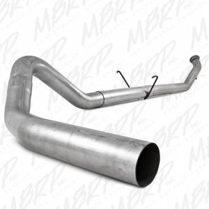 "MBRP Exhaust - MBRP Exhaust 4"" Turbo Back, Single Side - no muffler S6126PLM"