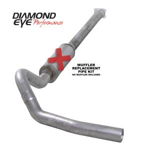 Engine & Performance - Exhaust  Systems - Diamond Eye Performance - Diamond Eye Performance 2001-2005 CHEVY/GMC 6.6L DURAMAX 2500/3500 (ALL CAB AND BED LENGHTS)-4in. ALUMIN K4110A-RP
