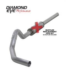 Engine & Performance - Exhaust  Systems - Diamond Eye Performance - Diamond Eye Performance 2004.5-2007.5 DODGE 5.9L CUMMINS 2500/3500 (ALL CAB AND BED LENGTHS)-4in. ALUMIN K4234A-RP