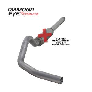 Diamond Eye Performance - Diamond Eye Performance 1994-1997.5 FORD 7.3L POWERSTROKE F250/F350 (ALL CAB AND BED LENGTHS) 4in. ALUMI K4310A-RP