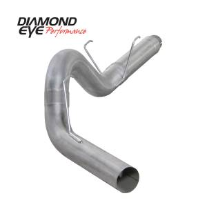 Engine & Performance - Exhaust  Systems - Diamond Eye Performance - Diamond Eye Performance 2007.5-2012 DODGE 6.7L CUMMINS 2500/3500 (ALL CAB AND BED LENGTHS) 5in. ALUMINIZ K5252A