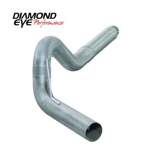 "Engine & Performance - Exhaust  Systems - Diamond Eye Performance - Diamond Eye Performance 13-14 DODGE 6.7L CUMMINS 5"" DIESEL PARTICULATE FILTER BACK SINGLE 409 STAINLESS K5256A"