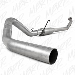 "MBRP Exhaust - MBRP Exhaust 4"" Turbo Back, Single Side S6126P"