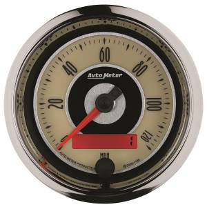 AutoMeter - AutoMeter Gauge; Speedometer; 3 3/8in.; 120mph; Elec. Programmable; Cruiser 1186 - Image 2