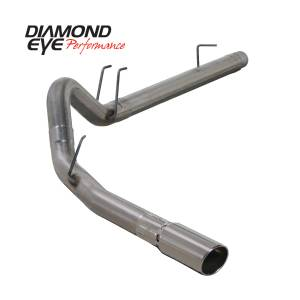2008-2010 Ford 6.4L Powerstroke - Exhaust - Diamond Eye Performance - Diamond Eye Performance 2008-2010 FORD 6.4L POWERSTROKE F250/F350 (ALL CAB AND BED LENGTHS) 4in. 409 STA K4360S