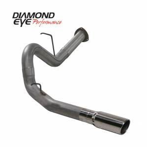 Engine & Performance - Exhaust  Systems - Diamond Eye Performance - Diamond Eye Performance 2007.5-2010 CHEVY/GMC 6.6L DURAMAX 2500/3500 (ALL CAB AND BED LENGHTS) 4in. 409 K4130S