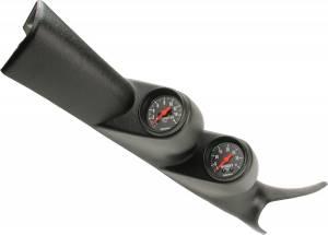 AutoMeter - AutoMeter Diesel Gauge Kit; A-Pillar; GM 00-07; Boost/EGT; 35psi/1600deg. F; Z Series 7081 - Image 1