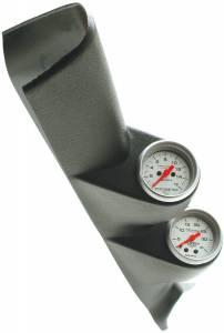 Interior Accessories - Gauges & Pods - AutoMeter - AutoMeter Diesel Gauge Kit; A-Pillar w/spkr; RAM 98-02; Boost/EGT; 35psi/1600deg. F; Ultra 7094