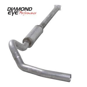 2004.5-2005 GM 6.6L LLY Duramax - Exhaust - Diamond Eye Performance - Diamond Eye Performance 2001-2005 CHEVY/GMC 6.6L DURAMAX 2500/3500 (ALL CAB AND BED LENGHTS)-4in. ALUMIN K4110A