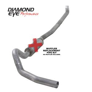 2006-2007 GM 6.6L LLY/LBZ Duramax - Exhaust - Diamond Eye Performance - Diamond Eye Performance 2001-2007.5 CHEVY/GMC 6.6L DURAMAX 2500/3500 (ALL CAB AND BED LENGTHS)-4in. ALUM K4114A-RP