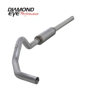 Engine & Performance - Exhaust  Systems - Diamond Eye Performance - Diamond Eye Performance 2004.5-2007.5 DODGE 5.9L CUMMINS 2500/3500 (ALL CAB AND BED LENGTHS)-4in. ALUMIN K4234A