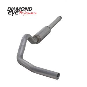Engine & Performance - Exhaust  Systems - Diamond Eye Performance - Diamond Eye Performance 1994-1997.5 FORD 7.3L POWERSTROKE F250/F350 (ALL CAB AND BED LENGTHS) 4in. ALUMI K4310A
