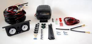2006-2007 GM 6.6L LLY/LBZ Duramax - Steering And Suspension - Air Lift - Air Lift LOAD CONTROLLER II; ON-BOARD AIR COMPRESSOR CONTROL SYSTEM; DUAL GAUGE; 25812