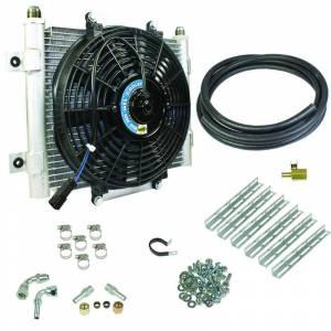 Drivetrain & Suspension - Transmission - BD Diesel - BD Diesel Xtruded Trans Oil Cooler - 3/8 inch Cooler Lines 1030606-3/8