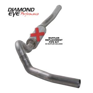 2006-2007 GM 6.6L LLY/LBZ Duramax - Exhaust - Diamond Eye Performance - Diamond Eye Performance 2006-2007.5 CHEVY/GMC 6.6L DURAMAX 2500/3500 (ALL CAB AND BED LENGTHS) 4in. 409 K4122S-RP