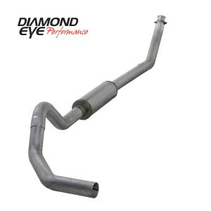 Diamond Eye Performance - Diamond Eye Performance 1994-2002 DODGE 5.9L CUMMINS 2500/3500 (ALL CAB AND BED LENGTHS)-4in. ALUMINIZED K4212A