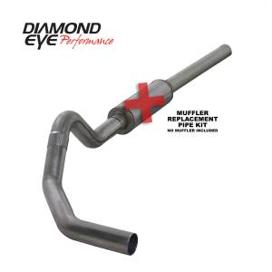 Engine & Performance - Exhaust  Systems - Diamond Eye Performance - Diamond Eye Performance 2004.5-2007.5 DODGE 5.9L CUMMINS 2500/3500 (ALL CAB AND BED LENGTHS)-4in. 409 ST K4234S-RP