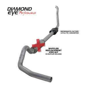 Engine & Performance - Exhaust  Systems - Diamond Eye Performance - Diamond Eye Performance 1994-1997.5 FORD 7.3L POWERSTROKE F250/F350 (ALL CAB AND BED LENGTHS) 4in. ALUMI K4306A-RP