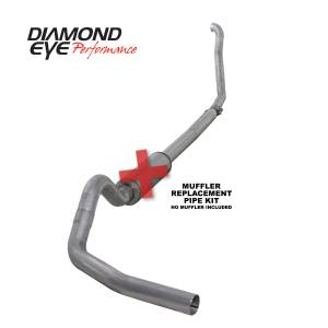 Engine & Performance - Exhaust  Systems - Diamond Eye Performance - Diamond Eye Performance 1994-1997.5 FORD 7.3L POWERSTROKE F250/F350 (ALL CAB AND BED LENGTHS) 4in. ALUMI K4307A-RP
