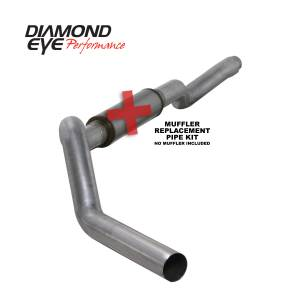 2007.5-2010 GM 6.6L LMM Duramax - Exhaust - Diamond Eye Performance - Diamond Eye Performance 2006-2007.5 CHEVY/GMC 6.6L DURAMAX 2500/3500 (ALL CAB AND BED LENGTHS) 5in. ALUM K5126A-RP