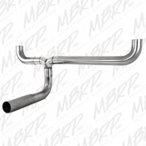 "MBRP Exhaust - MBRP Exhaust Full size Pickup  ""T"" pipe kit, T409 UT1001"